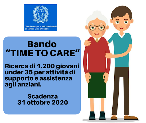 "Bando ""Time to Care"" – Date e orari colloqui"